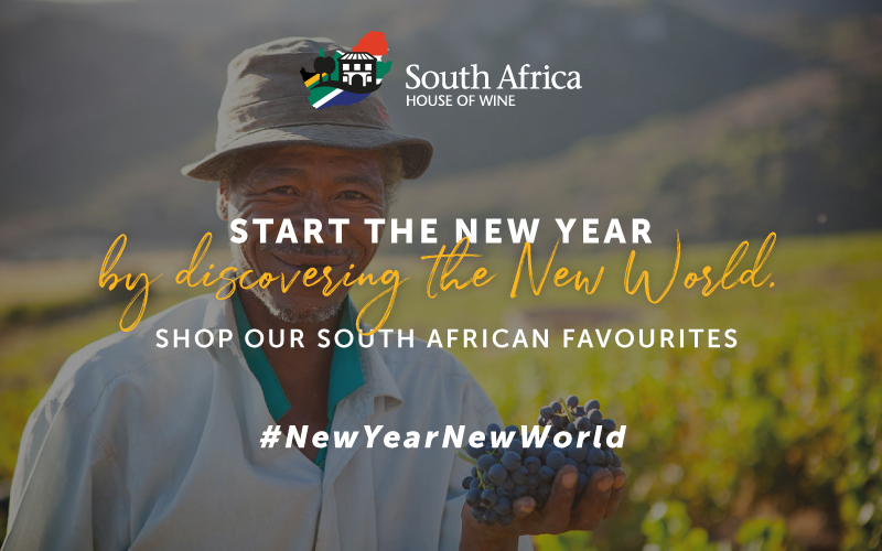 #NEWYEARNEWWORLD – MAKE 2021 THE YEAR YOU SIP SOUTH AFRICAN
