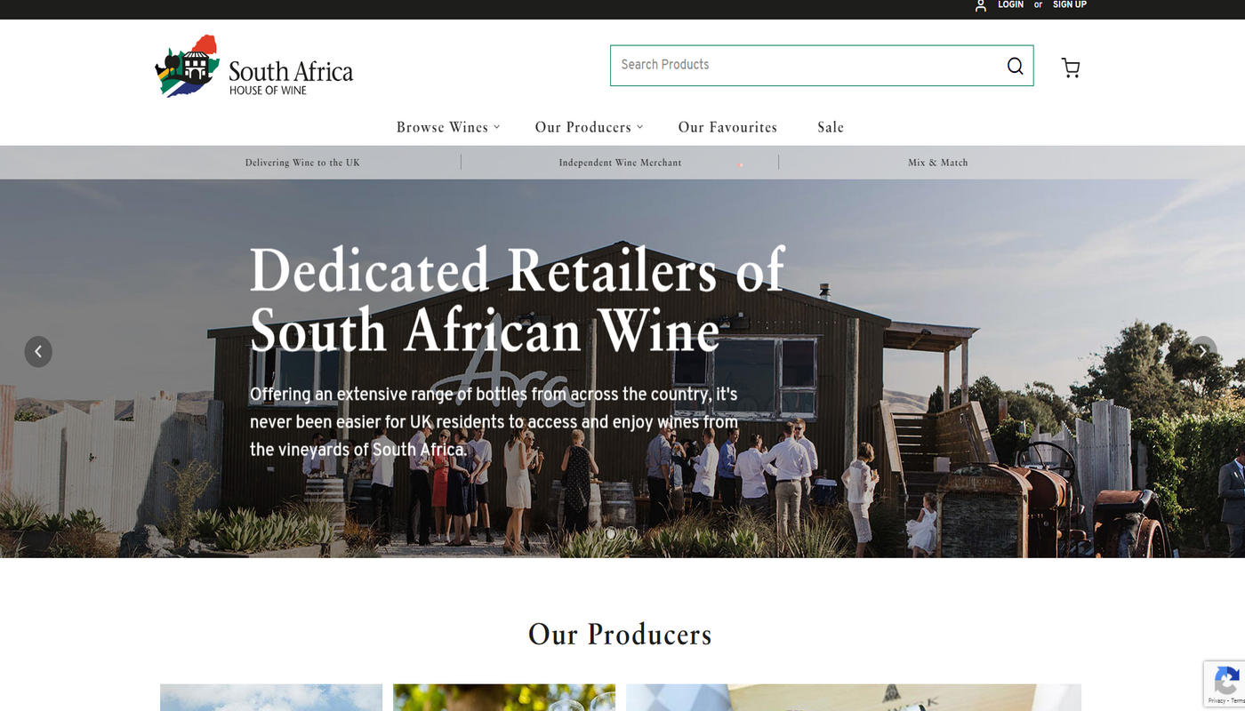 THE SOUTH AFRICA HOUSE OF WINE: A NEW AND IMPROVED LOOK